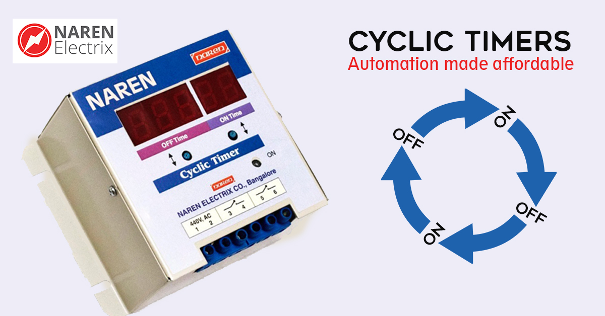 cyclic timers for motors