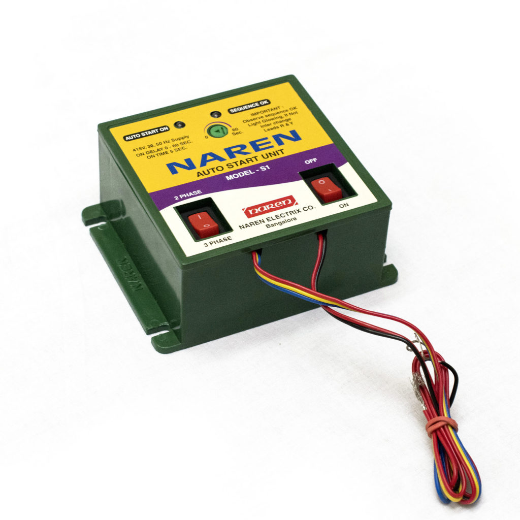 Agricultural devices- Auto start unit