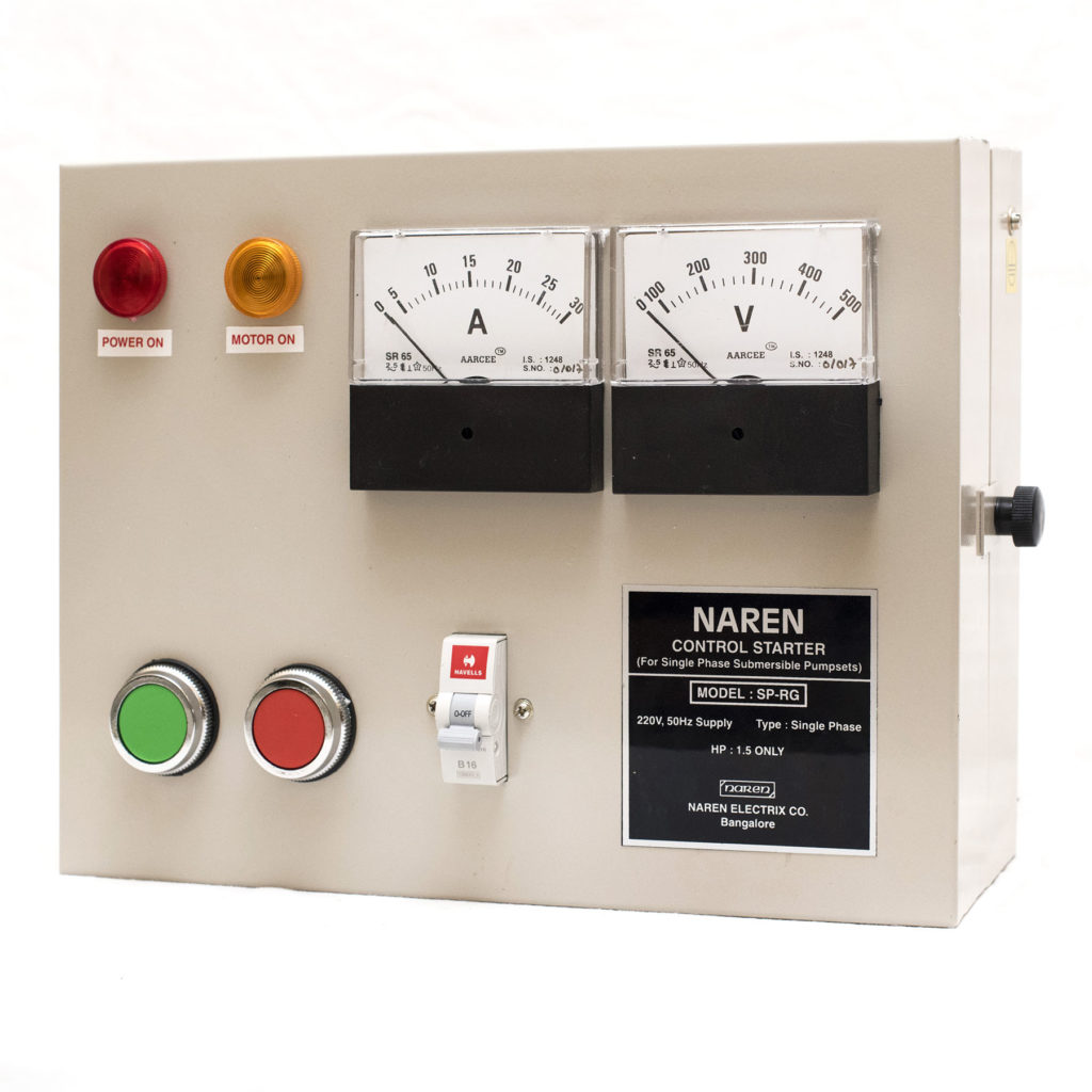 Agricultural devices-Analog Control Starter