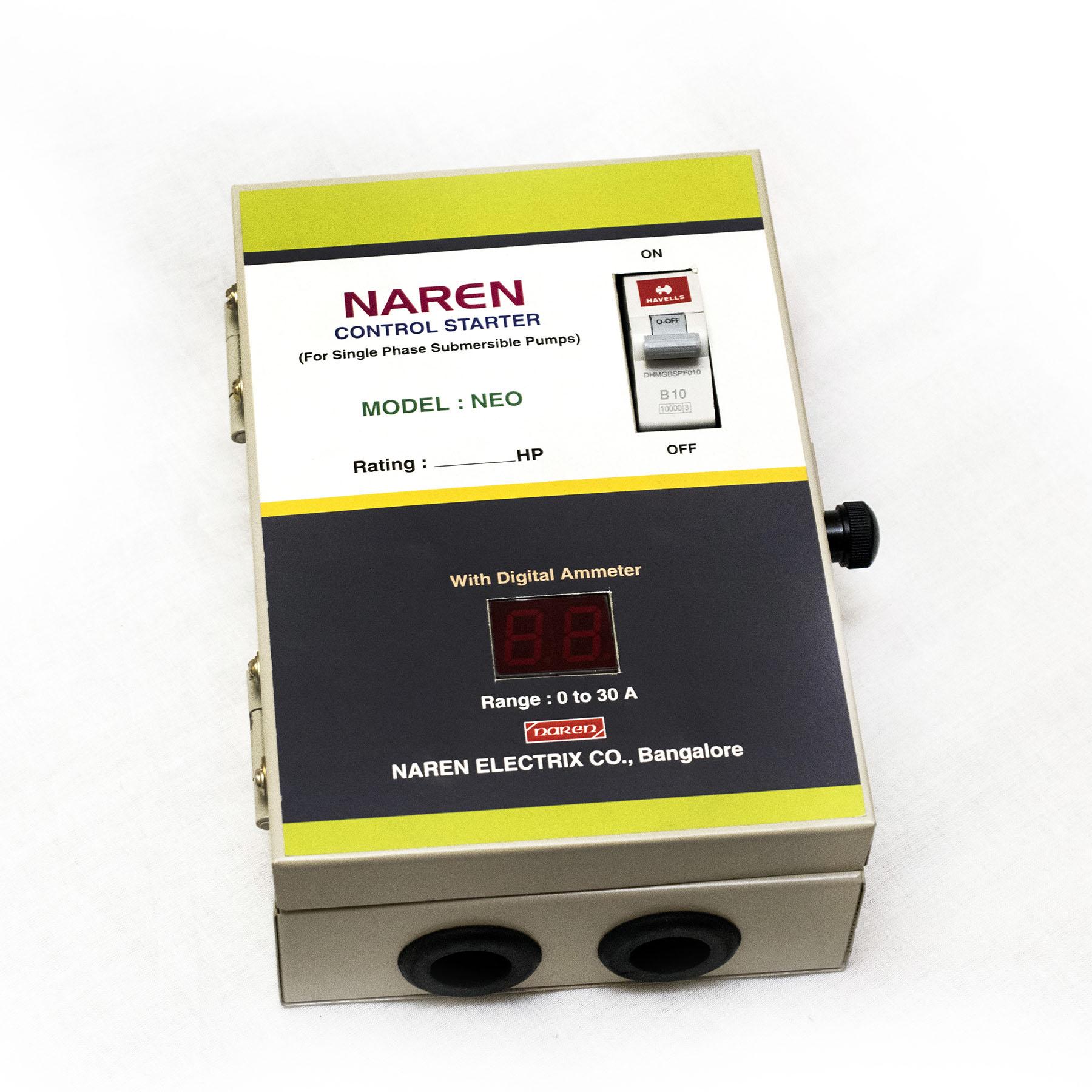 Naren - Control Starters for Pumps | Motor Starters | Best Quality