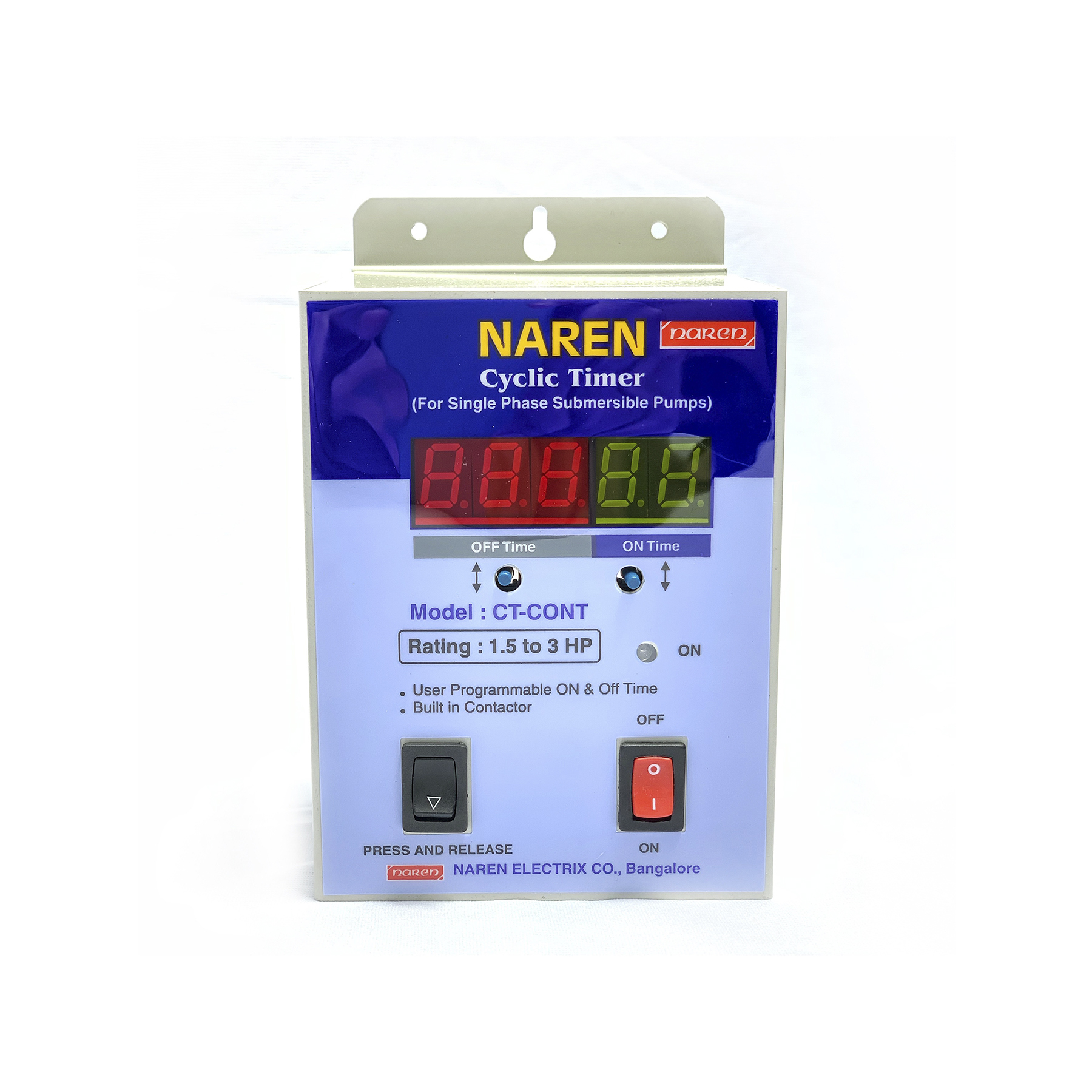 Naren - Cyclic Timer for Single Phase Pumps