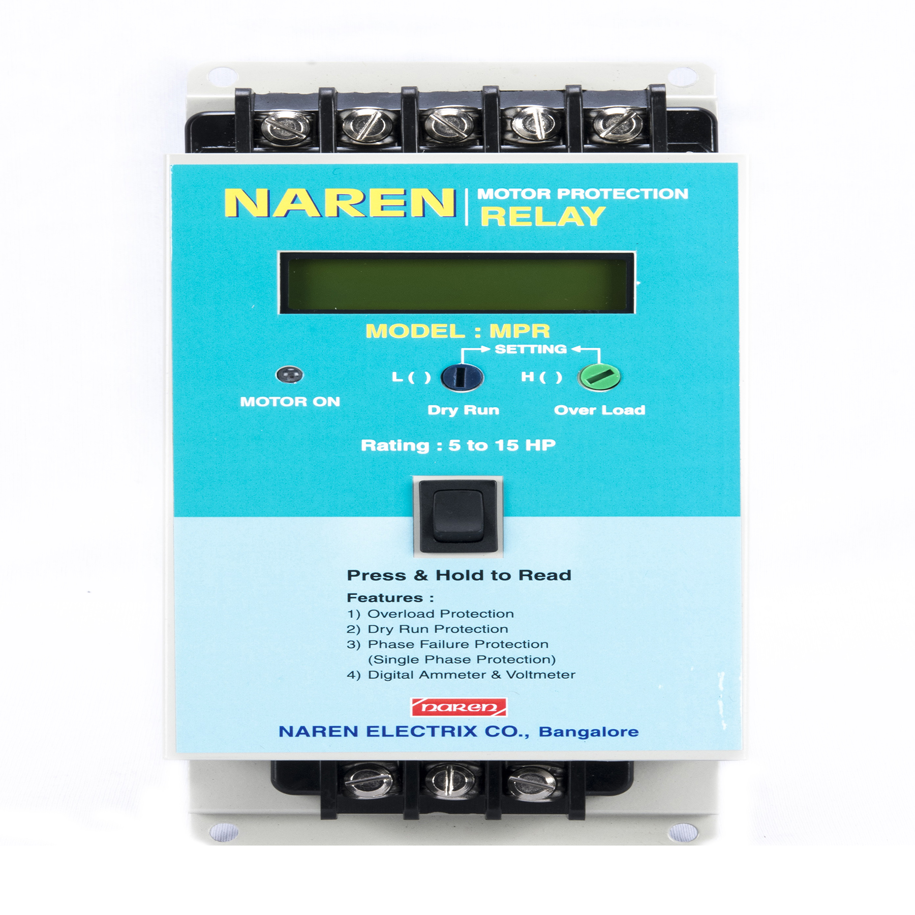Naren Electrix - High Quality Motor Protection Relay
