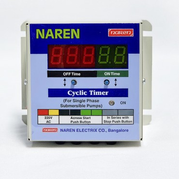 CYCLIC TIMER FOR MONOBLOCK / JET PUMPS